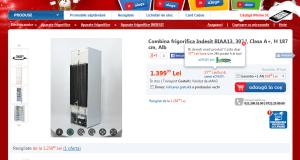 Combina frigorifica indesit biaa13